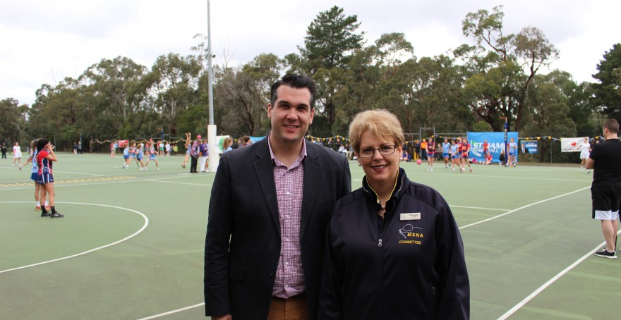 Investing in new and upgraded local sporting facilities