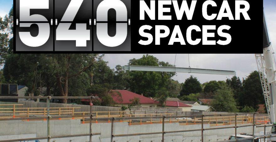540 New Car Spaces at Maroondah Hospital